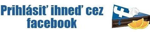 prihlasiť cez facebook