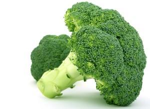 potraviny s obsahom chlorofylu brokolica