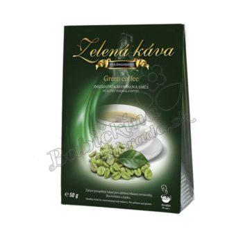 zelena káva